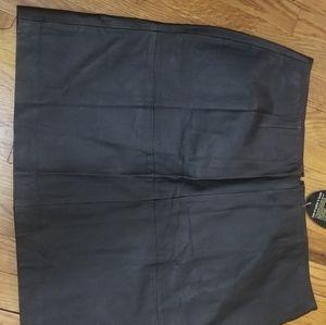 Dresses & Skirts - Leather jacket